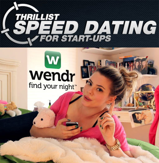 Wendr 2.0 Features Presented for the First Time in Thrillist/Sumsung Startup Contest